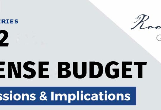 Webinar: FY22 Defense Budget Implications